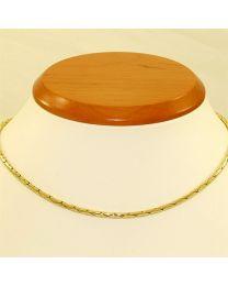 Gouden collier - 38.0 cm
