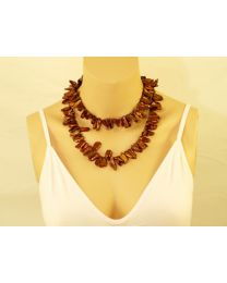 Biwaparel collier Mystic Brown
