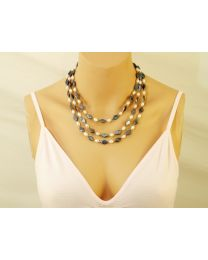 Zoetwaterparel collier Mystic pearl