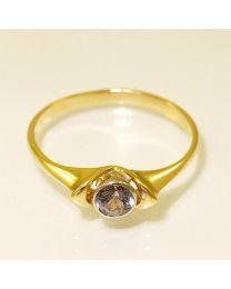 Gouden ring met Spinel