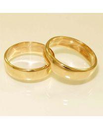 Gouden trouwringen - maat 17.5 en 18.5 mm