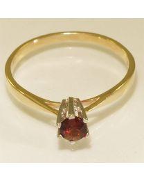 Gouden ring met Hessoniet