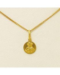 Gouden collier met hanger - 40.0 cm