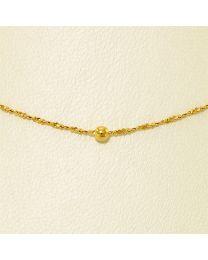 Gouden collier - 60.0 cm
