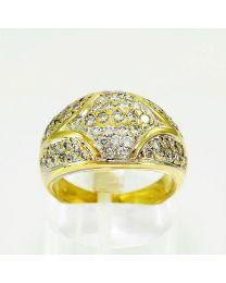 Gouden ring diamant