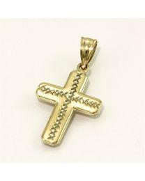 Gouden hanger kruis