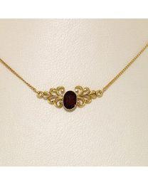 Gouden collier - 30.0 cm