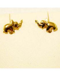Gouden oorstekers olifant