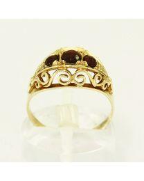 Antiek gouden ring